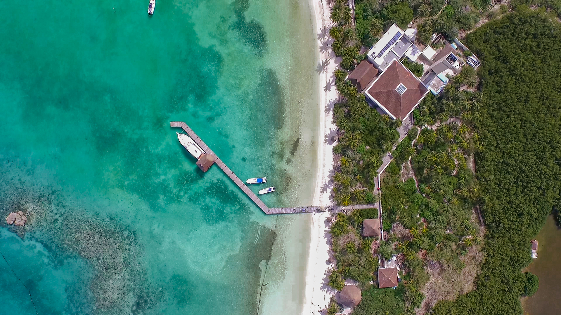 01 - LoRes - Isla Contoy Tour - Aerial Drone